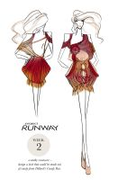 PROJECT RUNWAY Week 2: Twizzlered by i-anni