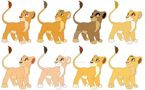 Adoptable Cubs (Closed) by Violent-Kion
