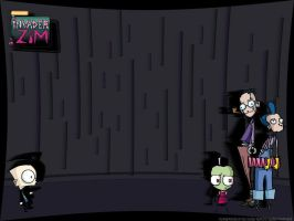Invader Zim Desktop Wallpaper by Slash-Free-JCV