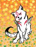 Baby Amaterasu by kemurai6