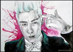 T.O.P. in knock out by Gilotina