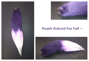 Purple Fox Tail by Finding-The-Key