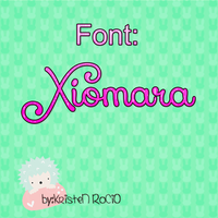 New font Xiomara by RoohEditions