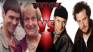 Harry and Lloyd vs. Harry and Marv by OmnicidalClown1992