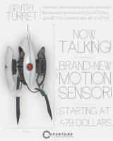 Sentry Turret Ad by LabsOfAwesome