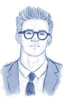 Grant Gustin by Mayotje