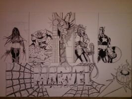 Marvel Project Update 8 WIP by DamCee
