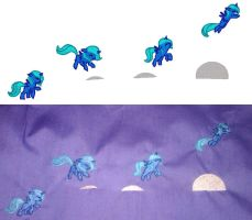 Filly Luna Embroidery by EthePony
