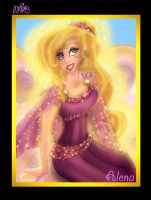 Alena the goddess of the Dawn by HercHaven