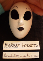 Masky! - Marble Hornets by luna201269