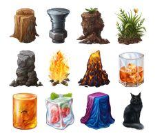 Challenge materials by Lady-DreamArt