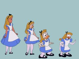 Alice Duck sequence by lonewarrior20
