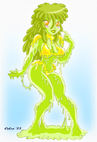 Slime Girl Limaria by Celso33