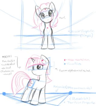 MLP - Basic Perspective Study 1 by DShou