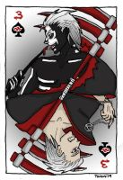 Hidan  3 of spades by TalonArt