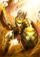 Capricon The Dragon Knight by joeyzsrk