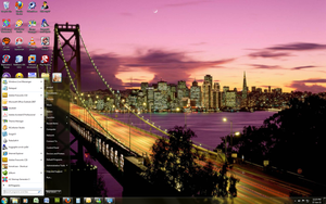 California - Windows 7 Theme by Windowsthememanager