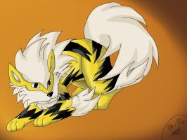 Shiny-Arcanine by Shinkou-san