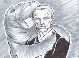 James Bond  loves manatees by NicoBlue