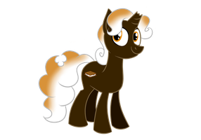 Sweet Chocolate Delight Pony by MysteryFanBoy718