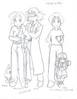 Medabots Movie Height Profile by HikaruAgata