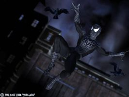 Spider-Man Jubilation Dark by sturkwurk
