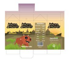 Juiceasaurus Drink Carton by DanB-Graphic-and-Web