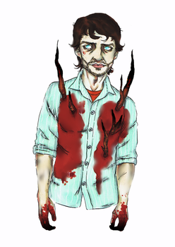 Will Graham Fanart. by kyuubi-overrated