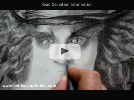 Drawing Johnny Depp - Video by Bobby-Sandhu