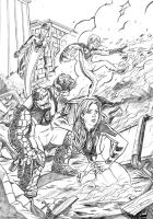 Ultimate Fantastic 4 Pencils by mcguinnessjohn