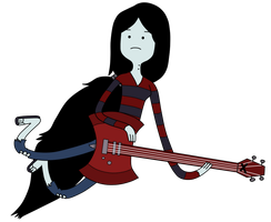 Marceline It Came From The Nightosphere by darkeninglight666
