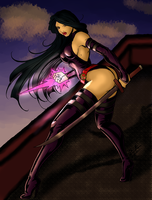 Psylocke-Color by silkshines