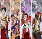 Ouran Zodiac Bookmarks ser.3 by PixelMagus