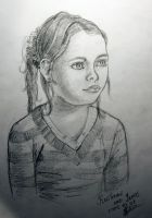 Portrait of a girl by Skuna