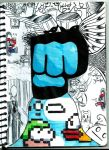 Brofist !! by rockgothicgirl