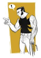 The mother******* Wolverine by deralbi