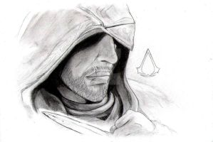 Ezio Auditore (AC:Revelations) by DivYes