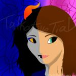 Two sides - Language arts pic and description by TalkativeTiaD