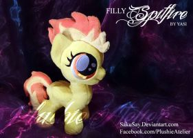 Filly Spitfire Custom Plush by SakuSay