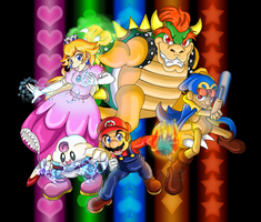 Team Mario's Koopa Troop by TanjatheBat
