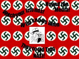 Watch for the Nazi by TaintedEvil
