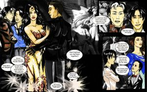 Batman x Wonder Woman: The Gotham Opera by Voishen