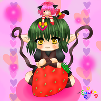 little strawberry by Estallia