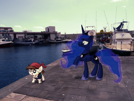 Smartly there, me seadog! [PIRL] by colorfulBrony