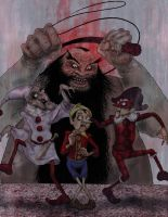 The Puppet Master by babygorilla