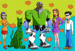 Scooby Titans by luckypurplerose
