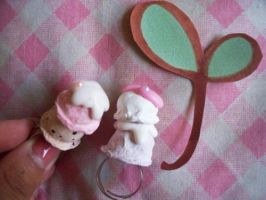 Double Scoop Ice Cream Ring by lemontreecrafts