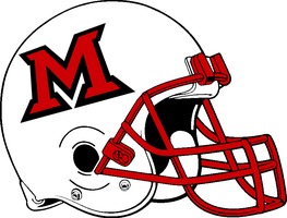 Miami (Ohio) helmet 1998-2010 by Chenglor55