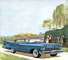 age of chrome and fins : 1957 Imperial by Peterhoff3