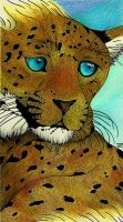 Claude - The Golden Leopard by Jwal1